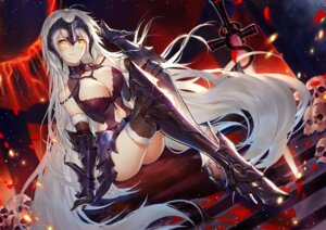 Rating: Safe Score: 47 Tags: armor cleavage fate/grand_order heels horz jeanne_d'arc jeanne_d'arc_(alter)_(fate) sword thighhighs User: Spidey