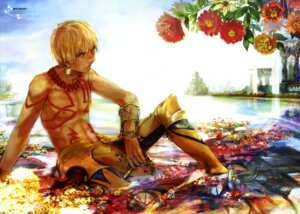 Rating: Questionable Score: 10 Tags: fate/stay_night gilgamesh_(fsn) kazuichi male type-moon User: drop