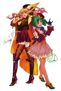 Rating: Safe Score: 19 Tags: cleavage ebata_risa garter_belt macross macross_frontier pantyhose ranka_lee sheryl_nome stockings thighhighs User: Share
