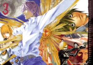 Rating: Safe Score: 5 Tags: amane_misa death_note l obata_takeshi yagami_light User: Radioactive