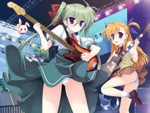 Rating: Questionable Score: 16 Tags: einhart_stratos guitar heterochromia kouzuki_hajime mahou_shoujo_lyrical_nanoha mahou_shoujo_lyrical_nanoha_vivid pantsu shimapan vivio wallpaper yuuno_scrya zafira User: blooregardo
