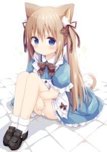 Rating: Questionable Score: 20 Tags: animal_ears maid nakkar nekomimi pantsu skirt_lift tail User: ryoga828
