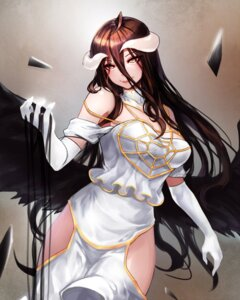 Rating: Safe Score: 41 Tags: albedo_(overlord) horns kibellin overlord wings User: Mr_GT