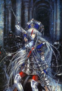 Rating: Safe Score: 7 Tags: armor astharoshe_asran binding_discoloration pantyhose thighhighs thores_shibamoto trinity_blood User: Radioactive
