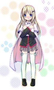 Rating: Safe Score: 11 Tags: little_busters! noumi_kudryavka seifuku tagme thighhighs User: petopeto