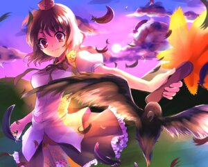 Rating: Safe Score: 16 Tags: kobanzame shameimaru_aya touhou User: fairyren