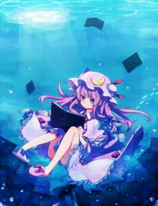 Rating: Safe Score: 27 Tags: patchouli_knowledge shirofox touhou User: Nekotsúh