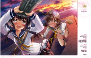 Rating: Questionable Score: 29 Tags: amakusa_tobari digital_version kantai_collection seifuku tokitsukaze_(kancolle) yukikaze_(kancolle) User: Twinsenzw