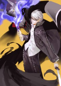 Rating: Safe Score: 6 Tags: atorosu male megane megaten narukami_yuu persona persona_4 sword User: Mr_GT