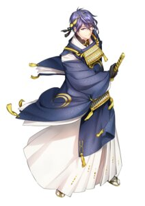 Rating: Safe Score: 6 Tags: asian_clothes hokora_(n70) male mikazuki_munechika sword touken_ranbu User: charunetra