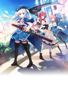Rating: Safe Score: 29 Tags: cleavage crystalia garter gijang heels kazamine_matsurika maid pantyhose pero seifuku shinonome_ruri shiraha_kirameku_koi_shirabe skirt_lift stockings sword thighhighs tsukitachibana_hime usume_shirou weapon User: saemonnokami