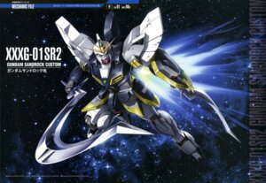 Rating: Safe Score: 15 Tags: gundam gundam_wing mecha ueda_youichi User: drop