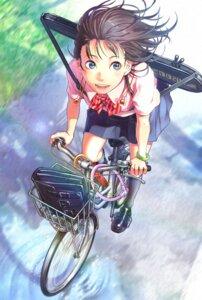Rating: Safe Score: 18 Tags: seifuku tagme umbrella User: saemonnokami