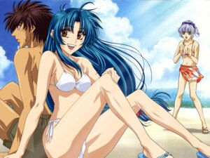 Rating: Safe Score: 18 Tags: bikini chidori_kaname full_metal_panic kamimoto_kanetoshi sagara_sousuke swimsuits teletha_testarossa wallpaper User: Radioactive