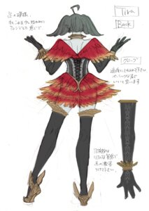 Rating: Questionable Score: 4 Tags: character_design corset see_through sketch soul_calibur soul_calibur_v thighhighs tira weapon User: Yokaiou
