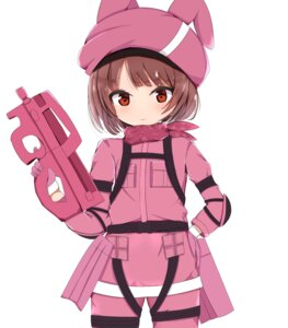 Rating: Safe Score: 26 Tags: bodysuit gun gun_gale_online kohiruimaki_karen llenn sword_art_online sword_art_online_alternative:_gun_gale_online tagme User: charunetra
