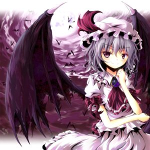 Rating: Safe Score: 20 Tags: remilia_scarlet tamago_gohan touhou wings User: hobbito