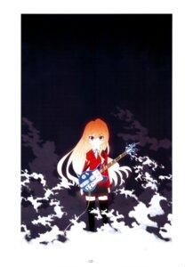 Rating: Safe Score: 6 Tags: aisaka_taiga guitar sato satosute seifuku toradora! User: Radioactive