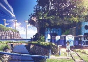 Rating: Safe Score: 64 Tags: higashiji_kazuki landscape nagi_no_asukara pantyhose shiodome_miuna User: saemonnokami