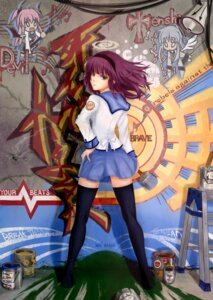 Rating: Safe Score: 24 Tags: angel_beats! seifuku shinda tenshi thighhighs yui_(angel_beats!) yurippe User: Radioactive