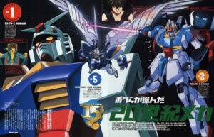 Rating: Safe Score: 8 Tags: amuro_ray endless_waltz gundam gundam_wing heero_yuy kamille_bidan male mecha mobile_suit_gundam zeta_gundam User: Radioactive