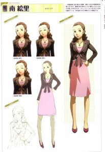 Rating: Safe Score: 5 Tags: character_design dress megaten minami_eri persona persona_4 sketch soejima_shigenori User: admin2