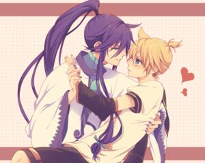 Rating: Safe Score: 7 Tags: chi_yu kagamine_len kamui_gakupo vocaloid yaoi User: charunetra