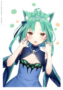 Rating: Safe Score: 30 Tags: animal_ears hololive kamikire_basami nekomimi uruha_rushia yasuyuki User: Arsy