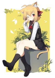Rating: Safe Score: 30 Tags: animal_ears heels rumia sh tail touhou User: Mr_GT