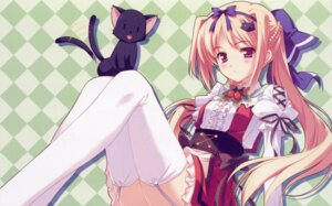 Rating: Safe Score: 23 Tags: kusukusu lulli neko palette sakura_strasse screening stockings thighhighs User: SoS_DAN