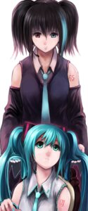 Rating: Safe Score: 15 Tags: hatsune_miku kosmos utau vocaloid yokune_ruko User: Radioactive