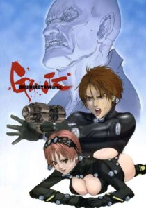 Rating: Questionable Score: 7 Tags: cleavage gantz jpeg_artifacts kishimoto_kei kurono_kei oku_hiroya User: calebjoe