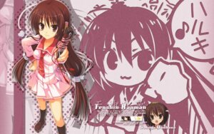 Rating: Safe Score: 30 Tags: chibi muririn seifuku tenshinranman unohananosakuyahime wallpaper User: withul