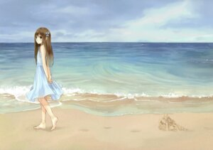 Rating: Safe Score: 70 Tags: boku_to_kimi_to_kakuusekai_to dress fixed kazuharu_kina summer_dress User: fireattack