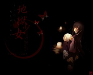 Rating: Safe Score: 5 Tags: enma_ai jigoku_shoujo wallpaper User: degeneric