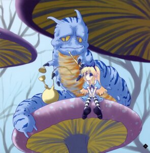 Rating: Safe Score: 21 Tags: alice alice_in_wonderland dress ice_&_choco kokonobi monster User: midzki
