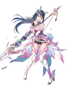 Rating: Questionable Score: 22 Tags: animal_ears armor azutarou breast_hold cleavage fire_emblem_heroes gen'ei_ibun_roku_#fe heels nintendo thighhighs torn_clothes tsubasa_oribe weapon User: fly24