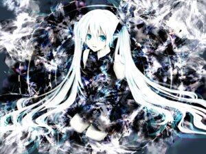 Rating: Safe Score: 31 Tags: aonoe dress hatsune_miku thighhighs vocaloid User: charunetra
