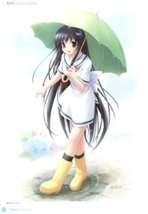 Rating: Questionable Score: 17 Tags: amesarasa chiyokawa_rin kantoku umbrella User: Twinsenzw