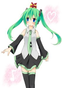 Rating: Safe Score: 13 Tags: hatsune_miku ichihina thighhighs vocaloid User: hobbito