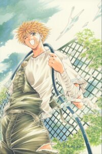 Rating: Safe Score: 2 Tags: amano_ginji ayamine_rando get_backers male User: charunetra