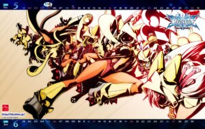 Rating: Safe Score: 21 Tags: blazblue calendar katou_yuuki mori_toshimichi taokaka wallpaper User: kyoushiro