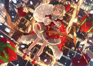 Rating: Safe Score: 10 Tags: bloomers christmas dress skirt_lift wattaro User: Mr_GT
