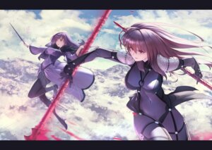 Rating: Safe Score: 37 Tags: bodysuit fate/grand_order heels itaco1987 pantyhose scathach_(fate/grand_order) scathach_skadi skirt_lift weapon User: BattlequeenYume