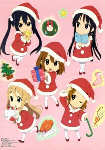 Rating: Safe Score: 72 Tags: akiyama_mio chibi christmas hirasawa_yui horiguchi_yukiko k-on! kotobuki_tsumugi nakano_azusa tainaka_ritsu User: akira25257542