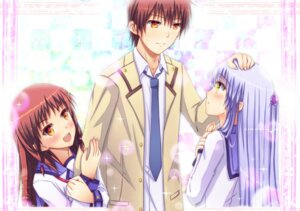 Rating: Safe Score: 9 Tags: angel_beats! otonashi otonashi_hatsune seifuku swordsouls tenshi User: fireattack