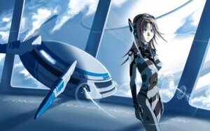 Rating: Safe Score: 20 Tags: bodysuit kakapo mecha_musume wallpaper User: Kaixa