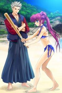 Rating: Safe Score: 7 Tags: bikini little_busters! miyazawa_kengo moonknives saigusa_haruka swimsuits User: Feito