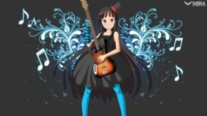 Rating: Safe Score: 11 Tags: akiyama_mio guitar k-on! mira_(silence) pantyhose wallpaper User: Radioactive