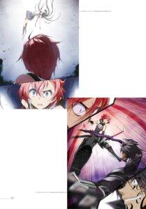 Rating: Questionable Score: 12 Tags: digital_version kasuga_ayumu_(artist) seifuku sword tattoo User: fireattack